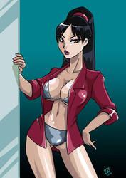 Detective Ellen Yin by Lychee-Soda