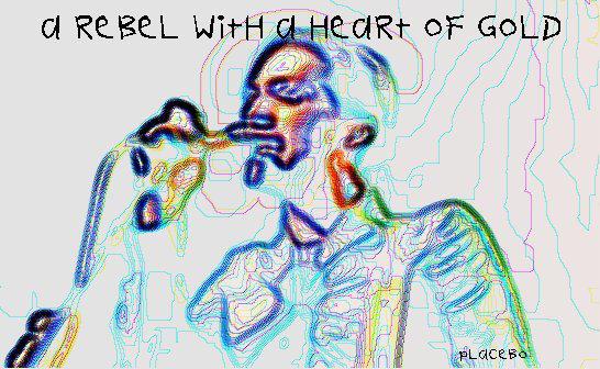 Brian Molko of Placebo by velvetpill