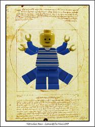 Vitruvian Man by Legomen
