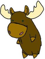 Moose. by PolloFrito