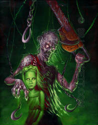 Dead Ed and Little Scary Mary by billytackett