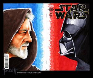 Star Wars #1 Sketch Cover by billytackett