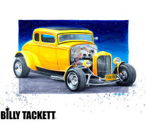 American Graffiti by billytackett