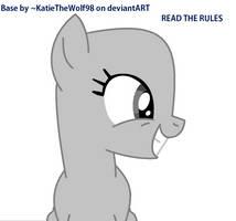 Happy Pony Base by KatieTheWolf98