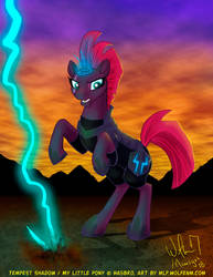 MLP: Tempest Shadow by WolfenM