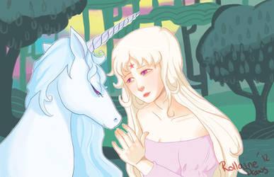 Lady Amalthea by LunaMiel