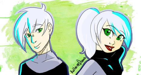 Danny and Dani by LunaMiel