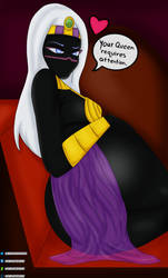 Queen Tyr'ahnee requires attention! by DIGITALBREAKOUT