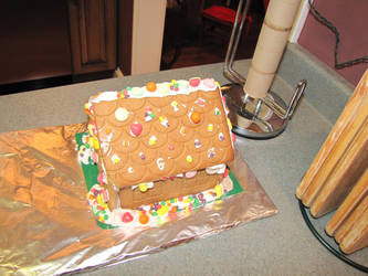 Gingerbread House by Historyman14