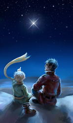 With the Little Prince by Skarlessa
