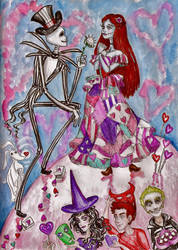 The Nightmare Before Valentine's Day by ghostyheart