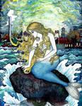 The Little Mermaid / Den Lille Havfrue by ghostyheart
