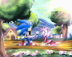 I missed you too, Amy by RulErofsonic