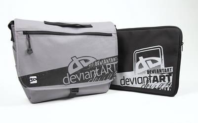 Laptop Messenger + Sleeve by deviantWEAR