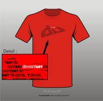 Semi-Finalist: 'DA_wordART' by deviantWEAR