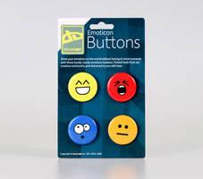 Emoticon Buttons by deviantWEAR