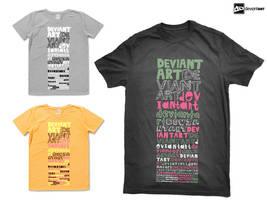 Semi-Finalist: 'da typography' by deviantWEAR