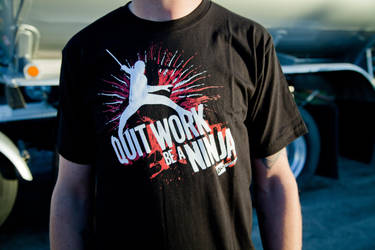 Quit Work, Be A Ninja by deviantWEAR