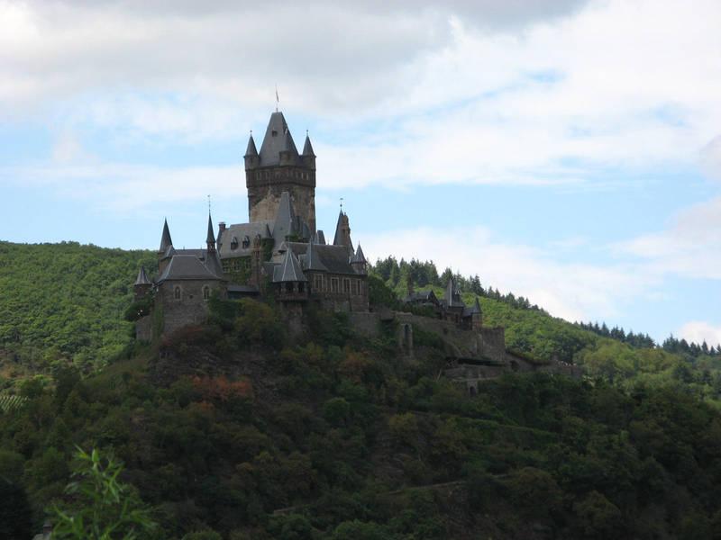 Rhineland Castle stock 01 by Castlemoor-stock