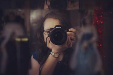 Mirror Self-Portrait by skruffi3