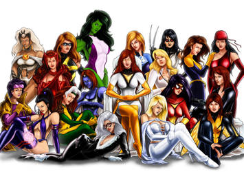 Women of Marvel by Choppic