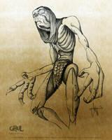 Charakter Illustration Ghul by ArthusokD