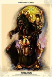 The Traveler  Poster by ArthusokD