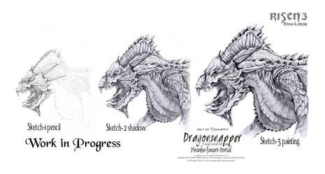 Risen3 Dragonsnapper Workflow by ArthusokD