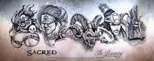 Art of Communy Sacred Creature Panorama by ArthusokD