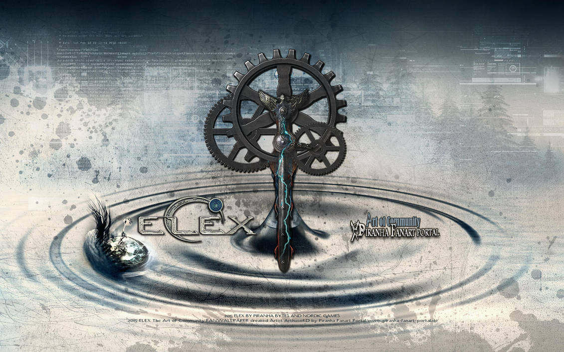 ELEX TECH WALLPAPER Waterdrop and Spice ELEX by ArthusokD