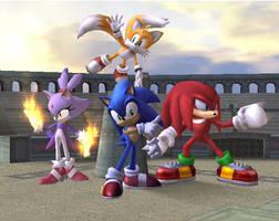 Sonic Rush Shot - brawl by badcoin