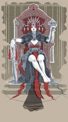 The Bleeding Baroness - Inktober the Aftermath 01 by Lercio4life