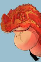 Ceratosaurus - color by KidGalactus