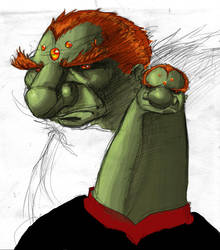 Call Ganon a dork.? Not me by KidGalactus