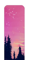 divider - painted sunset 2 by sleepweeks