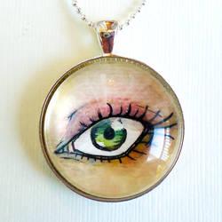 Third Eye Pendant by cellsdividing