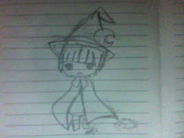 a witch :3 by ImOnlyLittle