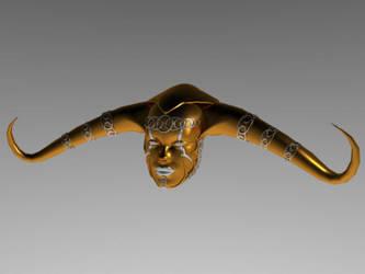 Morgan le Fay mask by justjoeaverage