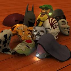 masks by justjoeaverage