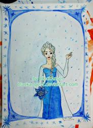Elsa from Frozen by BlackAngel-F