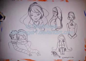 Sketch My OC - Gabryjela by BlackAngel-F