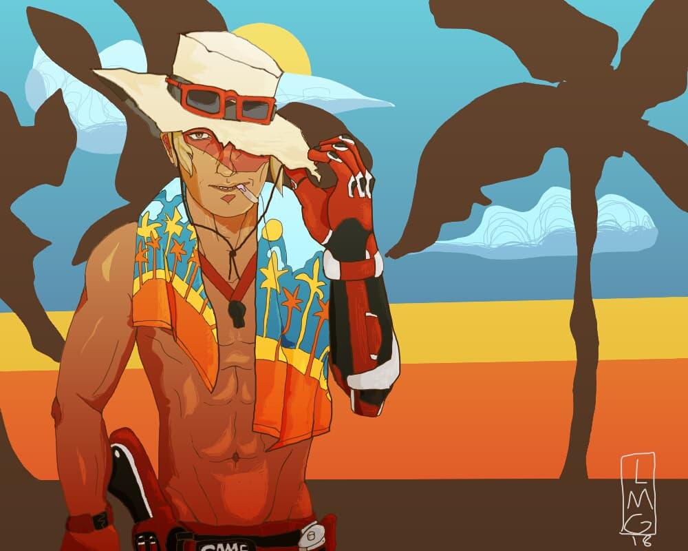 Lifeguard Mccree by BAKAFOOLS
