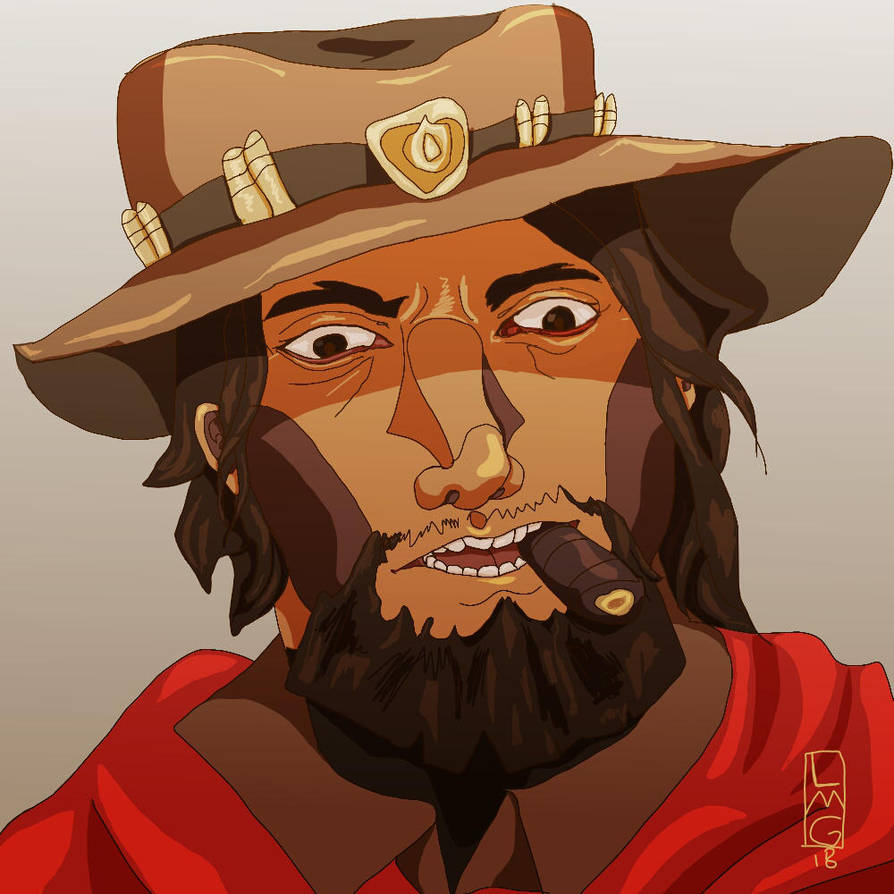 McCree is disgusted with you by BAKAFOOLS