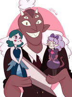 Reverse Where They Got To Be Like The Lucitors by Jess-the-vampire
