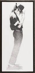 Charcoa Art of Michael Jackson by FujiiWho