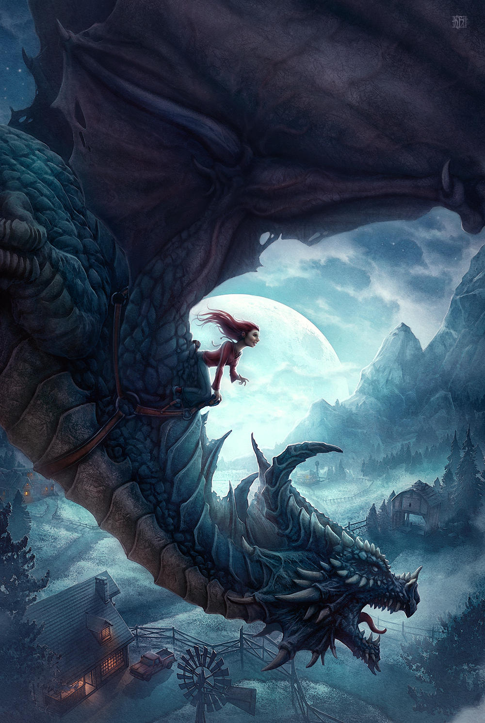The Dragons of Ordinary Farm by kerembeyit