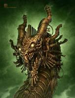 Steampunk Dragon by kerembeyit