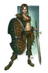 Razorclaw Warden by kerembeyit