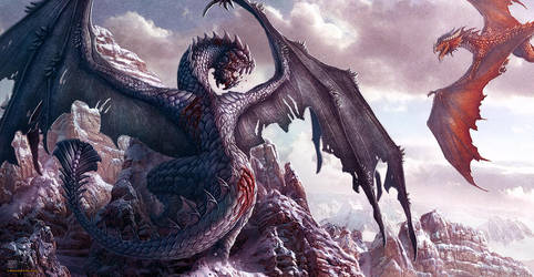 War of Dragons by kerembeyit