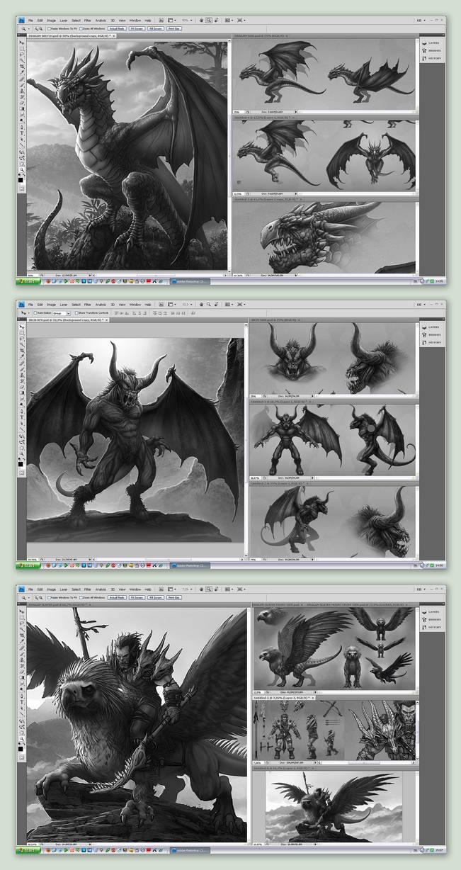 Desktop Screens by kerembeyit